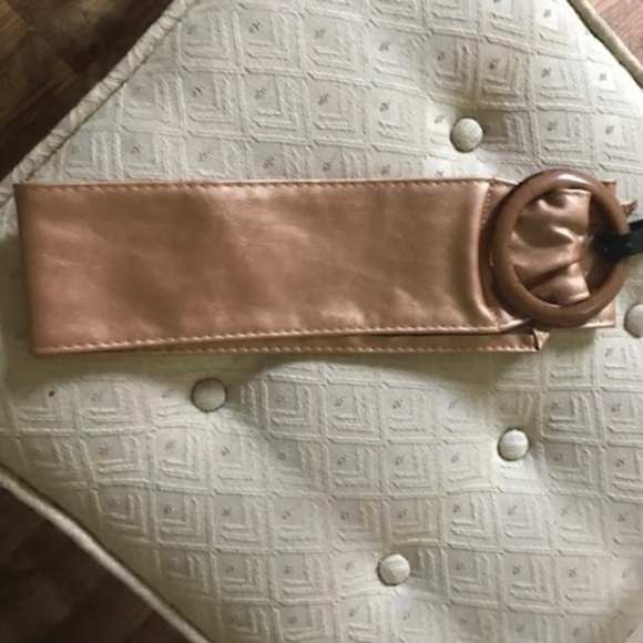 Other - NWT Metallic Cinch Belt